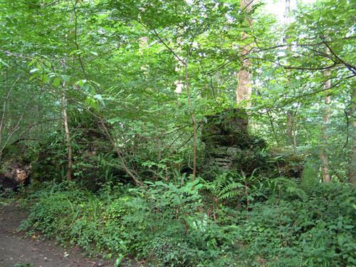The Grotto had fallen down