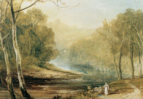 Turner painting Hackfall