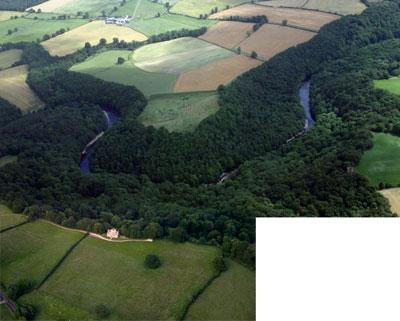 Hackfall aerial photograph