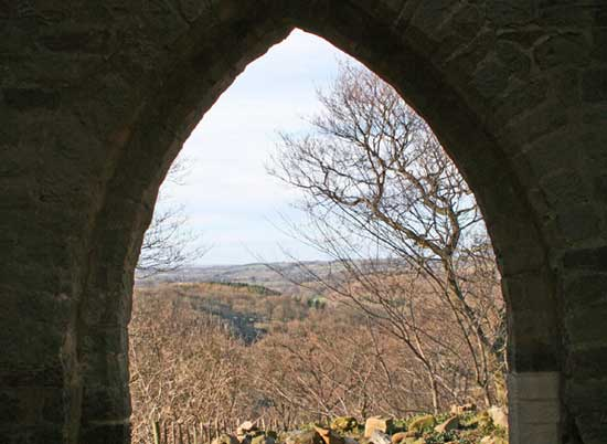 A view from Mowbray Castle