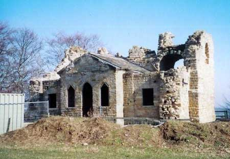 Banqueting Hall in ruin